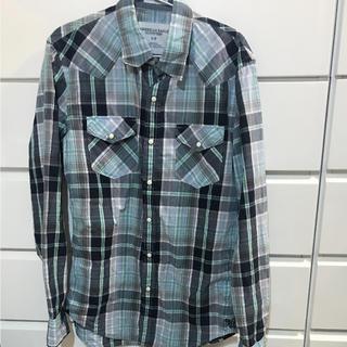 アメリカンイーグル(American Eagle)のチェックシャツ americaneagle メンズ(シャツ)
