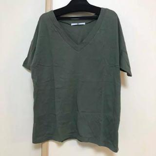 スライ(SLY)のSLY VネックTシャツ オーバーサイズ(Tシャツ(半袖/袖なし))