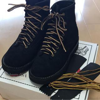 ウエスコ(Wesco)のホワイツ ブーツ スモークジャンパー ラフアウト 8.5E 6インチ(ブーツ)