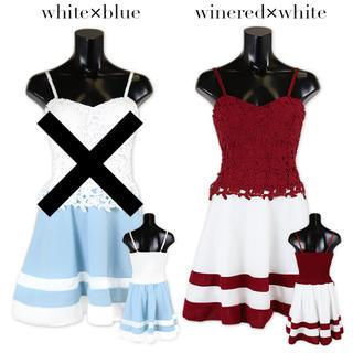 デイジーストア(dazzy store)の新品タグ付きTika♡刺繍フラワーガーリードレス(ミニドレス)