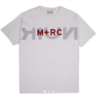 M+RC NOIR マルシェノア BIG LOGO WHITE S(Tシャツ/カットソー(半袖/袖なし))