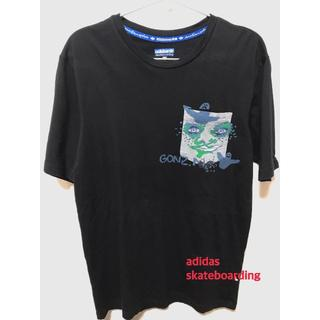 アディダス(adidas)の【古着】adidas アディダス skateboarding Tシャツ Mサイズ(Tシャツ/カットソー(半袖/袖なし))