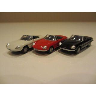アルファロメオ(Alfa Romeo)の3台セット 京商 1/100 アルファロメオ(ミニカー)