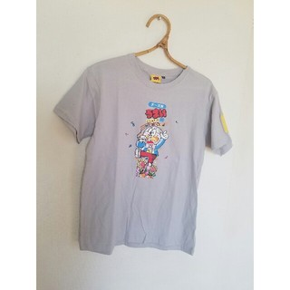 シマムラ(しまむら)の新品未使用 うまい棒 Tシャツ(Tシャツ/カットソー(半袖/袖なし))