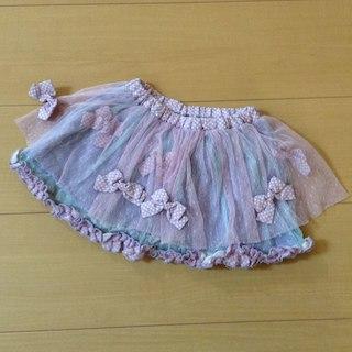ジェモー(Gemeaux)のgemeaux ジェモー FORTYONE チュールスカート 80-90(スカート)
