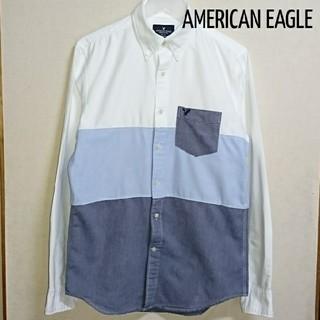アメリカンイーグル(American Eagle)のAmerican Eagle 切り替えシャツ(シャツ)
