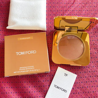 トムフォード(TOM FORD)のTom ford 01 GOLD DUST フェースパウダー 新品(フェイスパウダー)