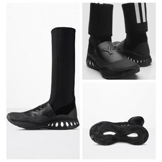 ワイスリー(Y-3)の中古美品Y-3BBALLCAGE2WAYネオプレーンロングブーツ(ブーツ)