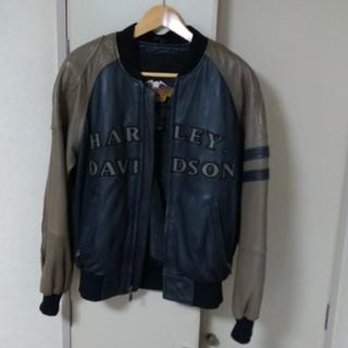 ハーレーダビッドソン(Harley Davidson)のHarley Davidson スタジャン 本革(スカジャン)