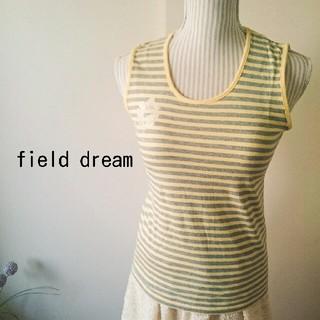 フィールドドリーム(field/dream)のビジューつき♥タンクトップ(タンクトップ)