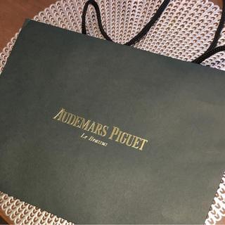 オーデマピゲ(AUDEMARS PIGUET)のオーデマピゲ 正規品 紙袋 深緑(ショップ袋)