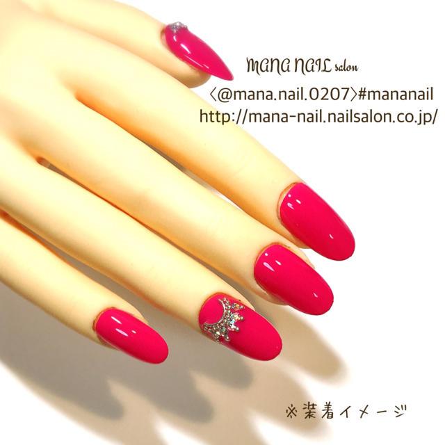 (45)新作【ご購入後制作】〈サイズ変更可能〉 コスメ/美容のネイル(つけ爪/ネイルチップ)の商品写真