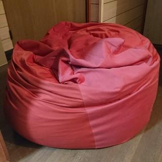 ムジルシリョウヒン(MUJI (無印良品))の無印良品 ソファーカバー 赤(ソファカバー)