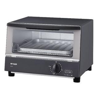 タイガー(TIGER)の☆格安☆ タイガー オーブントースター グレー やきたて KAK-B100-HW(調理機器)