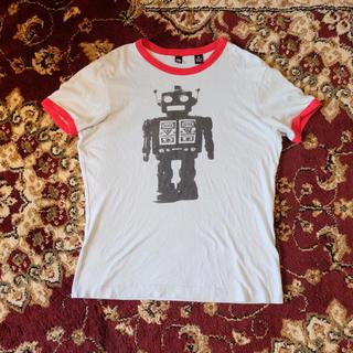 オルタナティブ(ALTERNATIVE)のAlternative Apparel/Robot Print Tee(Tシャツ(半袖/袖なし))