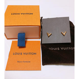 ルイヴィトン(LOUIS VUITTON)のスタッズ イヤリング・エセンシャル V(ピアス)