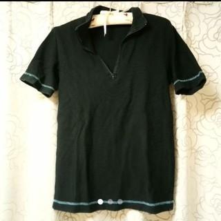 ジュンメン(JUNMEN)のジュンメン ブラックポロシャツ(ポロシャツ)