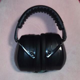防音イヤーマフ ヘッドホン遮音値34dB ANSI S3.19/CE EN521(イヤーマフ)