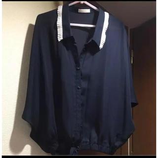 グラスライン(Glass Line)のグラスライン ドルマンブラウス シャツ(シャツ/ブラウス(半袖/袖なし))