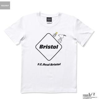 エフシーアールビー(F.C.R.B.)の100サイズ Bristol スヌーピー コラボTシャツ(Tシャツ/カットソー)