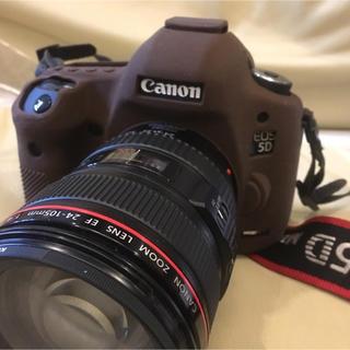 ディスカバード イージーカバー canon EOS5Dmark3用(ブラウン)