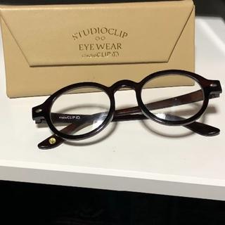 スタディオクリップ(STUDIO CLIP)のおしゃれオーバルメガネ(サングラス/メガネ)