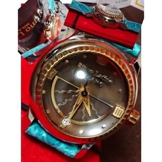リトモラティーノ(Ritmo Latino)の◆稼働品★リトモラティーノRitmo Latino★ドーム型レンズ腕時計F12 (腕時計)
