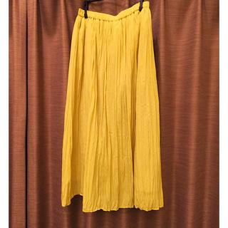 サニーレーベル(Sonny Label)のアーバンリサーチ サニーレーベル  エアリーサテンプリーツスカート(ロングスカート)