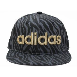 アディダス(adidas)のadidas アディダスBBキャップ ゼブラ★ブラック/ゴールド【新品・未使用】(キャップ)