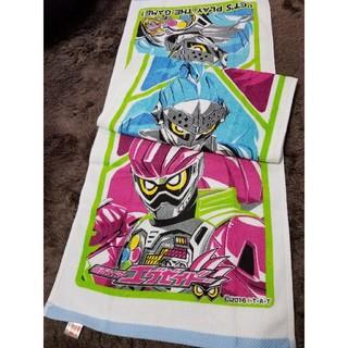 バンダイ(BANDAI)の仮面ライダー エグゼイド フェイスタオル2枚セット 保育園プールタオルにも 新品(タオル)