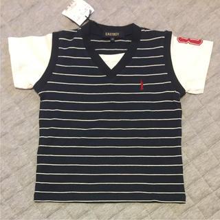 新品未使用!イーストボーイ Tシャツ(110センチ)