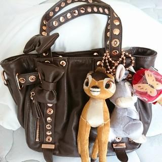 サマンサタバサ(Samantha Thavasa)のサマンサタバサディズニーコラボバンビウサギマスコット付きバッグ(ショルダーバッグ)