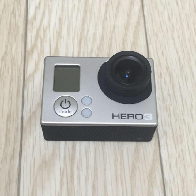 GoPro(ゴープロ)のgoprohelo3 スマホ/家電/カメラのカメラ(コンパクトデジタルカメラ)の商品写真
