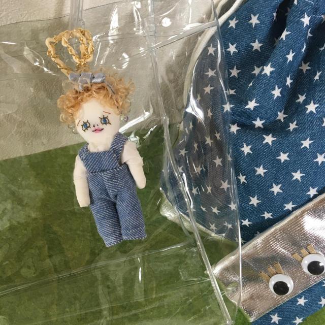 ドールチャーム   クリアバッグセット ハンドメイドのアクセサリー(チャーム)の商品写真