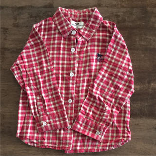 ドッグデプト(DOG DEPT)のシャツ 110センチ(Tシャツ/カットソー)