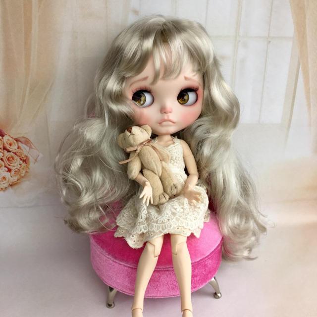 カスタムドール  015   icyドール ハンドメイドのぬいぐるみ/人形(人形)の商品写真