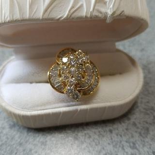 ダイヤモンドと18Kのリング(リング(指輪))