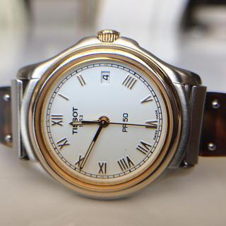ティソ(TISSOT)のTISSOT PR50 レディースクォーツ(腕時計)