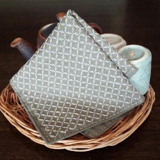 刺し子の布巾(キッチン小物)