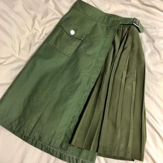 イチパーセント(1%)のparuさん 1% SHUHEI OGAWA 巻きスカート(ひざ丈スカート)
