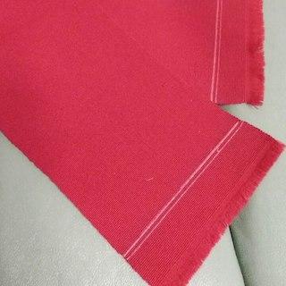 半幅帯 くすんだ赤 正絹 博多帯(振袖)