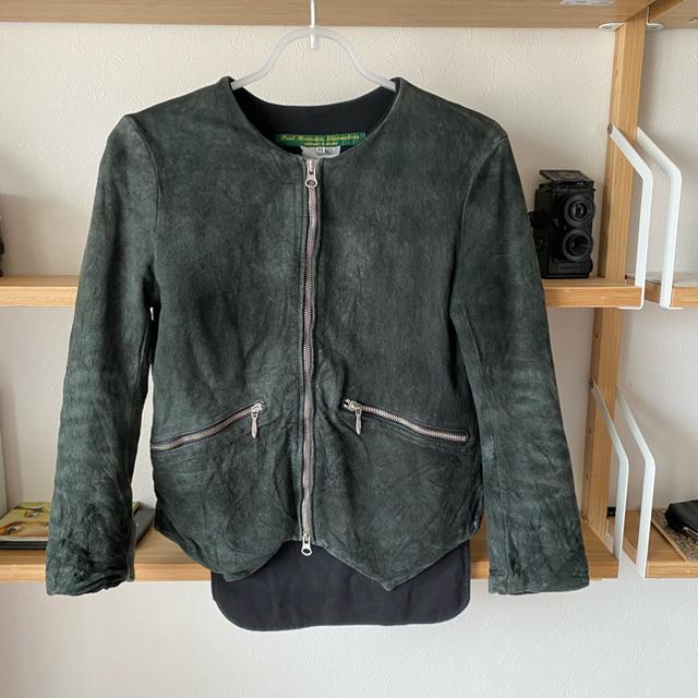 Paul Harnden(ポールハーデン)のpaul harnden レザージャケット レディースのジャケット/アウター(ライダースジャケット)の商品写真