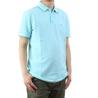 ヒューゴボス(HUGO BOSS)のヒューゴ・ボス PADDY メンズポロシャツ(#L)       (ポロシャツ)