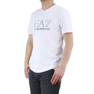 エンポリオアルマーニ(Emporio Armani)のイーエーセブン(EA7) メンズTシャツ(#M)       (Tシャツ/カットソー(半袖/袖なし))