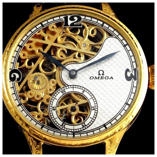 OMEGA - 値下可 OH済 美品 オメガ アンティーク アール・デコ 腕時計 1920年の通販