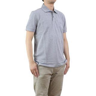 ヒューゴボス(HUGO BOSS)のヒューゴ・ボスC-FIRENZE/LOGOメンズポロシャツ(#L)       (ポロシャツ)