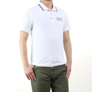 エンポリオアルマーニ(Emporio Armani)のイーエーセブン(EA7) メンズポロシャツ(#L)       (ポロシャツ)