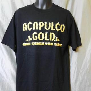 アカプルコゴールド(ACAPULCO GOLD)のACAPULCO GOLD Tシャツ L 未使用品 マネーロゴ アカプルコ(Tシャツ/カットソー(半袖/袖なし))