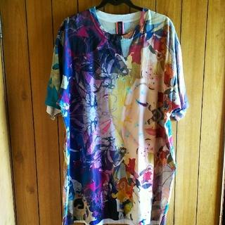 アチャチュムムチャチャ(AHCAHCUM.muchacha)のあちゃちゅむDisneyコラボ BigTシャツ♪(Tシャツ(半袖/袖なし))