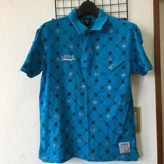 ラスケー(RUSS・K)のRUSS・K ポロシャツ ブルー Mサイズ(シャツ)